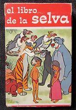 1966 Disney JUNGLE BOOK Spanish Educational Card Game FVF Ed-U-Cards 33 Cards