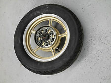 Yamaha 1985 XV700 XV Virago 700 rear Rim Wheel GOLD aluminum tire 140/90-15