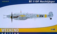 Eduard 1/48 Messerschmitt Bf110F Nachtjager Weekend Edition # 84145