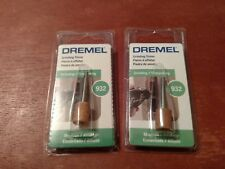 """Lot Of 2 New Dremel 932 1/8"""" Metal Grinding Stone Cylinder Free Shipping"""
