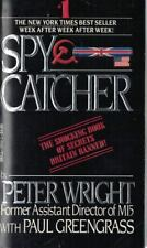Spycatcher by Paul Greengrass 1988 Paperback Bio of Senior Intelligence Officer