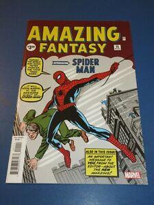 Amazing Fantasy #15 Facsimile Reprint 1st Spider-man VF+ Beauty Wow