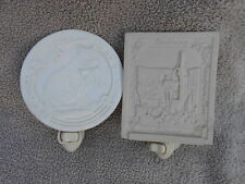 Ceramic Wall Night Lights [lot of 2]
