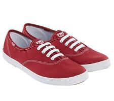 Keds Ladies' Champion Original Shoe Canvas Arch support Breathable  Red women