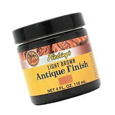 Fiebing's Light Brown Antique Finish Paste 4oz