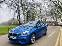 2017 BMW 2 Series Gran Tourer 218i 1.5 M Sport Automatic Petrol 7 Seater Blue