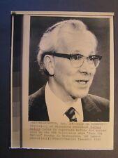 AP Wire Press Photo 1982 University of Minnesota economist Walter Heller