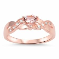 Infinity Accent Wedding Engagement Band Ring 925 Sterling Silver Choose Color