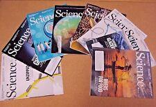 Lot 8 Science Magazine AAAS 2017 August; September; October; November; December