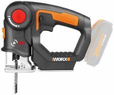 WORX WX550.9 Reciprocating Saw & Jigsaw 20V MAX Axis Multi-Purpose Saw w/ BONUS