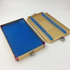 aluminium alloy  sterilization tray case ophthalmic instrument plastic surgery