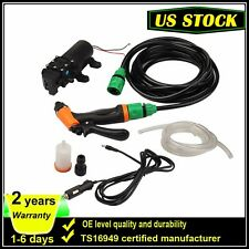 Portable 80W 130PSI High Pressure Car Electric Washer Wash Pump 12V US Stock