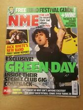 NME APRIL 25 2009 JACK WHITE THE WHITE STRIPES GREEN DAY EMINEM MUMFORD AND SONS