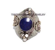 Adjustable Lapis Ring Boho ring Nepal ring Tibetan ring Tibet Ring Bohemian RB2