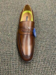 Florsheim Comfort Tech Cognac Leather Men's Penny-loafer Men's Slip-on Dress Sho