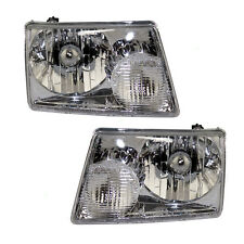 Fits 2001-11 Ford Ranger Pickup Truck Headlights Headlamps Pair Left Right Set