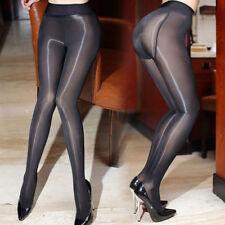 Sexy Damen High Waist Ultra Glossy Glanz Strumpfhose Pantyhose Tights Nylons