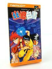 Yu Yu Hakusho - Nintendo Super Famicom SFC JAP Japan complet
