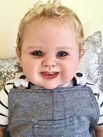 CUSTOM MADE REBORN TODDLER BABY BOY TORI BY PING LAU PEBEBE NURSERY!