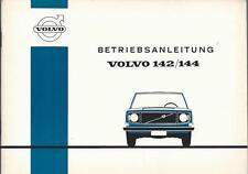 VOLVO 142 144 Betriebsanleitung 1971 Bedienungsanleitung Handbuch Bordbuch   BA