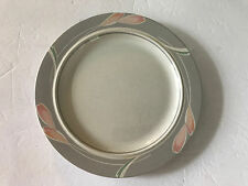 """Epoch China BELAIR E740 On the Go Stoneware, Pink Tulips - 10-5/8"""" DINNER PLATE"""