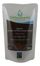 ORGANIC FAIRTRADE COFFEE ENEMA SOLUTION LIGHT GOLDEN AIR ROAST - 84 DAY - GERSON