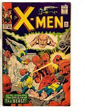 (Uncanny) X-Men # 15 FN Marvel Comic Book Spider-Man Angel Beast Iceman FH2