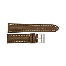Breitling 24 - 20 mm Brown Leather Strap-AU