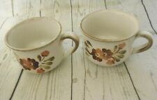 Two Vintage Denby Serenade Stoneware Cups Mugs1976-1982