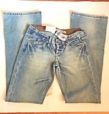 GSus Sindustries Low Rise Bootcut Denim Jeans Sz 27