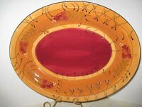 Romance by Nanette Vacher Ambiance Collection Large Serving Platter