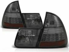 BMW E46 ESTATE TOURING ALL SMOKED LED REAR TAIL BACK LIGHTS 02/1998-02/2005