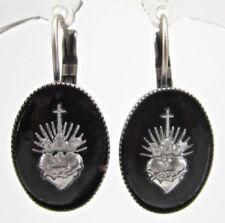 Gothic Mode-Ohrschmuck im Hänger-Stil mit Cabochon-Schliffform