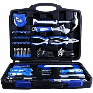 Home Repair Tool Kit Set Box Storage Household Maintenance Craftsman 102 Piece