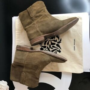 ISABLE MARANT CRISI  BOOTS SIZE 39IT beige