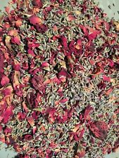 Bulk Fragrant Dried  Lavender and Roses 4 OZ Potpourri, Wedding Toss FREE SHIP