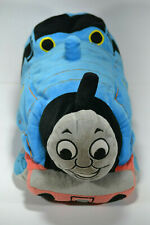 "Thomas The Train Plush 15"" Stuffed Toy Blue 2010 Pillow lovey #1 cuddle engine"