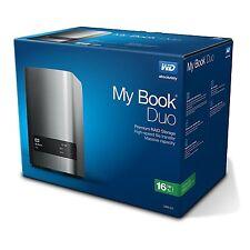 WD My Book Duo 16TB RAID Storage Dual-Drive RAID 0/1 JB0D USB3.0 RTL