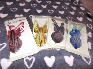 Murano Glas Halskette und Ohrringe