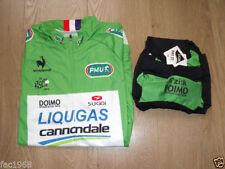 Set maglia e pantalone da ciclismo verde