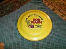 Vintage DO IT YOURSELF DOG WASH Humphrey No. 15 Promo Catch Disc Toy Wall Hanger