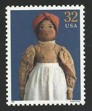 Babyland Rag c. 1900 Classic American Doll Dinah Black Heritage Us Stamp Mint!