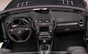 Alu Frames for Air Vent Nozzles Mercedes Benz SLK R171 Set of 4 Interior Trim