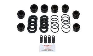 for Porsche Boxster 986 FRONT Brake Caliper Repair Kit +Pistons (BRKP593)
