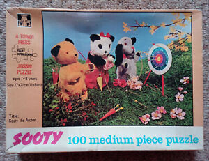 SOOTY - THE ARCHER JIGSAW PUZZLE - Sue + Sweep - Tower Press 100 Piece