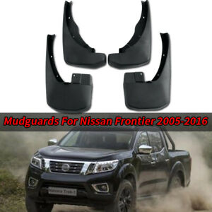 For Nissan Frontier 2005-2016 4Pcs Splash Mud Guards Flaps Fender + Screws Parts