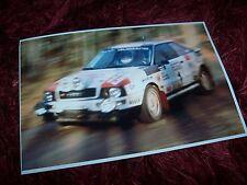 Photo / Photograph  Paul Choinière AUDI S2 1993 North American Rally Champion //
