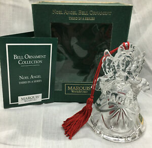 Marquis by WATERFORD -- ANGEL BELL -- ORNAMENT  3rd in series