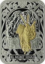 MOUNT SINAI Biblical Places Silver Coin 10D Andorra 2012