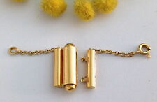 CHIUSURA PER COLLANA IN ORO GIALLO 18KT -18KT SOLID GOLD CLOSING FOR NECKLACE